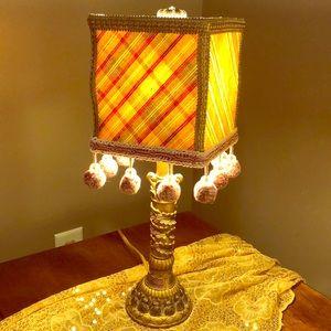 Darling lLittle Bronze color accent lamp
